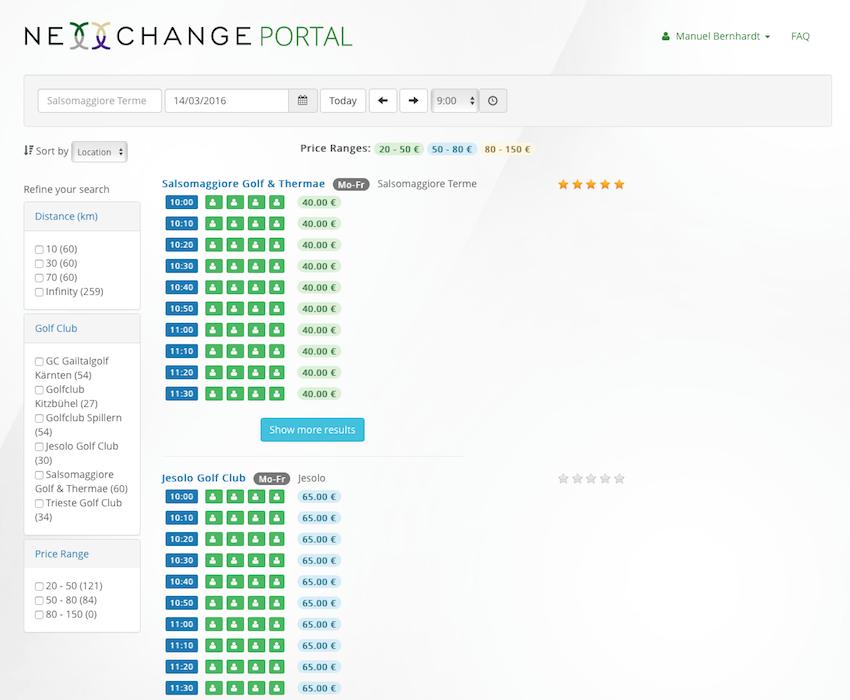 Nexxchange Portal